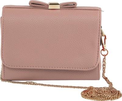 ToniQ Girls, Women Pink PU Sling Bag