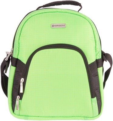 Harissons Men, Women Green Polyester Sling Bag