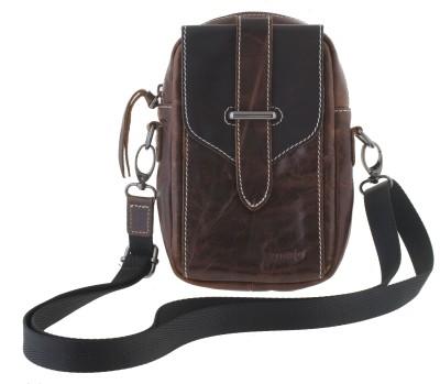 SurprizeMe Girls Casual Brown PU Sling Bag