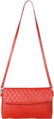 Anekaant Women Red PU Sling Bag