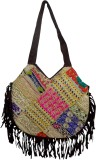 RTD Women Multicolor Velvet Sling Bag