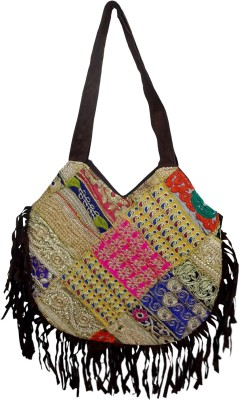 RTD Girls, Women Multicolor Velvet Sling Bag