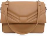 Cascara Women Beige PU Sling Bag