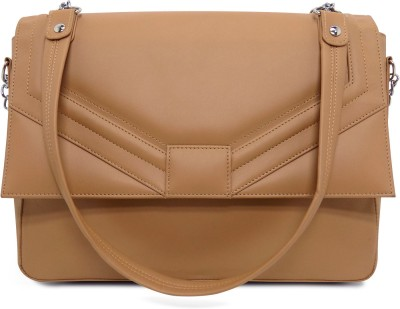 Cascara Women Beige PU Sling Bag