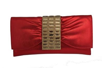 ALTG Women, Girls Red Velvet Sling Bag
