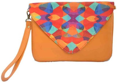 The Creative Hub Women Multicolor PU Hand-held Bag