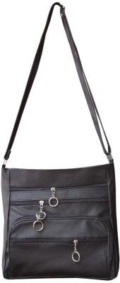 Bueva Girls, Women Black PU Sling Bag