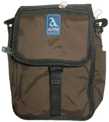 Alpine 360 Degree Boys, Girls, Men, Women Casual, Evening/Party, Festive, Formal, Sports Brown Nylon Sling Bag