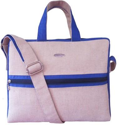 Jutecentral Women, Men White, Blue Juco Sling Bag
