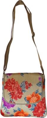 Bhamini Women Multicolor Silk Sling Bag