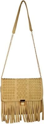 Lizzie Women Brown PU Sling Bag