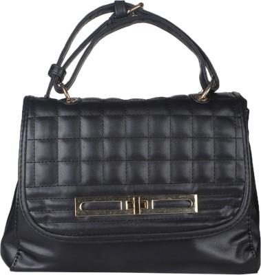 Riti Women Black PU Sling Bag