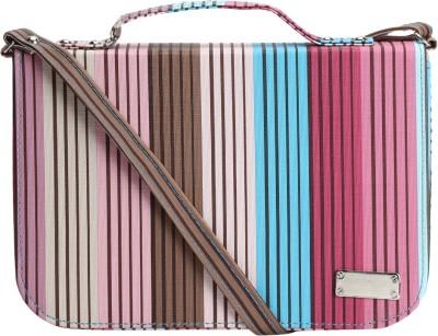 Coash Women Multicolor PU Sling Bag