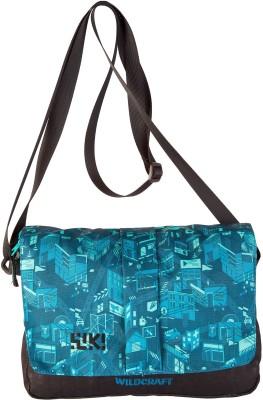 Wildcraft Women Blue Polyester Sling Bag