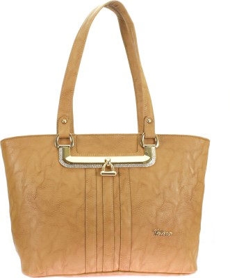 Velina Women Brown PU Shoulder Bag