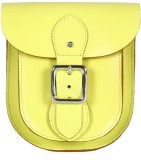 Viari Women Casual Yellow Genuine Leathe...