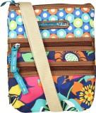 Kiara Women Multicolor Polyester Sling B...