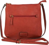 Lomond Women Red PU Sling Bag
