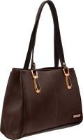 JFL - Jewellery for Less Women Brown Genuine Leather Shoulder Bag