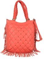 Webhin Women Pink PU Hand-held Bag
