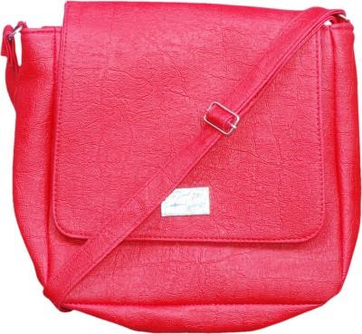 Deox Girls Red PU Sling Bag