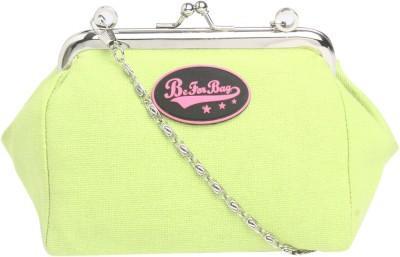 Be for Bag Women Green Cotton Sling Bag
