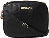 Zoricane Women Black PU Sling Bag