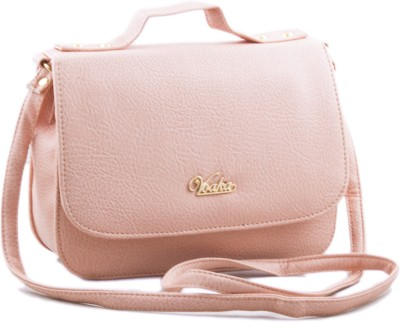 Voaka Women, Girls Orange PU Sling Bag