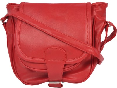 Naaz Bag Collection Women Red PU Sling Bag