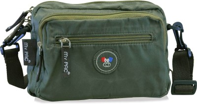 My Pac Db Women Khaki Polyester Sling Bag