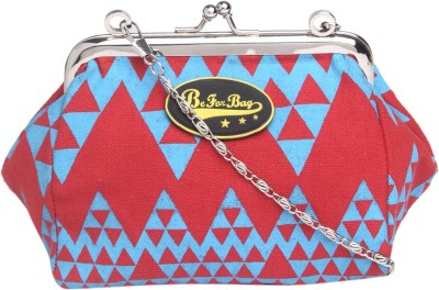 Be for Bag Women Red Cotton Sling Bag