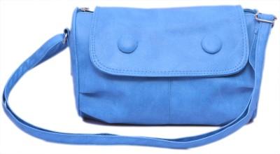 Felicita Women Casual, Evening/Party, Festive Blue PU Sling Bag