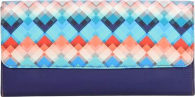 Zoe Makhoa Girls, Women Blue Silk Sling Bag