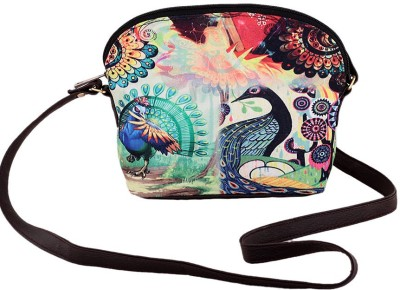 The G Street Women Multicolor Canvas Sling Bag
