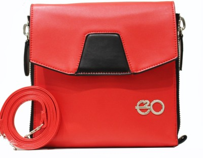 E2O Women Casual Red Sling Bag