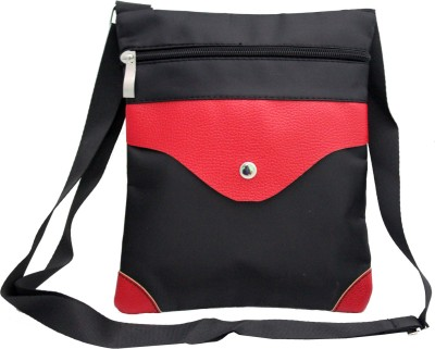ShoppingFeast Women Red Flex Sling Bag
