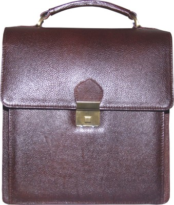 Armaan Leather Men Formal Brown Genuine Leather Sling Bag