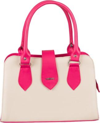 Lady World Girls, Women Beige, Pink PU Sling Bag