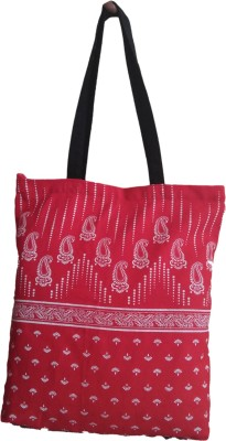 Fly Angels Women Red Canvas Tote