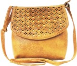 Madame Exclusive Women Beige Leatherette...