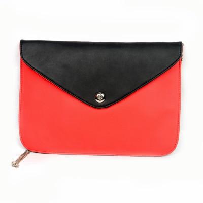 lasslee Women Red PU Sling Bag