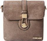 Zoricane Women Brown PU Sling Bag