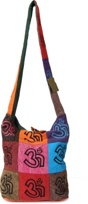 Mojeska Boys, Girls Multicolor Cotton Sling Bag