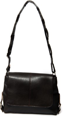 Borse Women Casual Brown PU Sling Bag