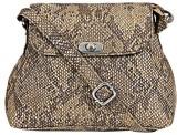 Bagsy Malone Women Beige PU Sling Bag