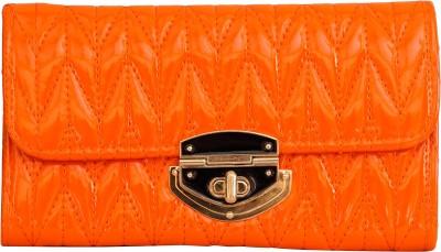 Parv Collections Women, Girls Casual Orange PU Sling Bag