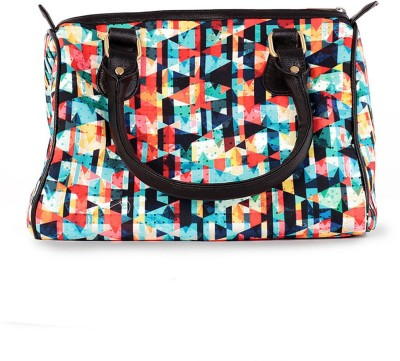 The G Street Women Multicolor Canvas Hand-held Bag