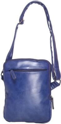 iva Women, Girls Blue Leatherette Sling Bag