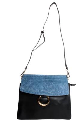 Reedra Women Blue PU Sling Bag