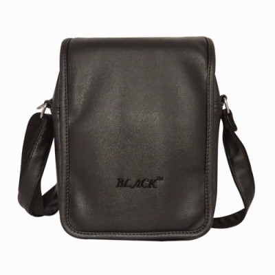 Chimera Leather Men, Women Casual, Formal Black Leatherette Sling Bag